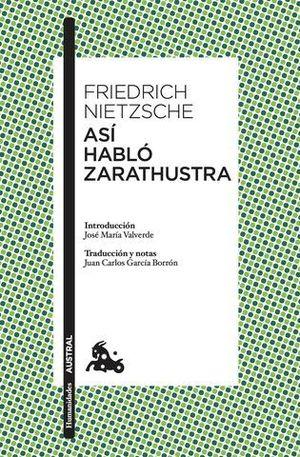 ASI HABLO ZARATHUSTRA