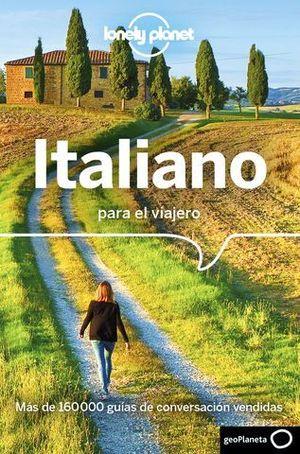 ITALIANO PARA EL VIAJERO. GUIA DE CONVERSACION LONELY PLANET ED. 2018