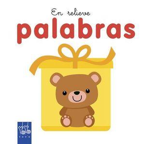 PALABRAS.  EN RELIEVE