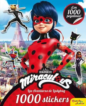 MIRACULOUS. LADYBUG.1000 STICKERS