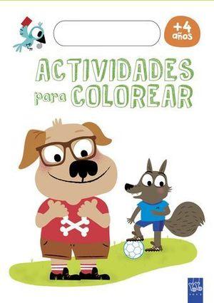 ACTIVIDADES PARA COLOREAR +4