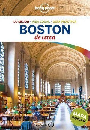 BOSTON DE CERCA LONELY PLANET 2018  2ªED.