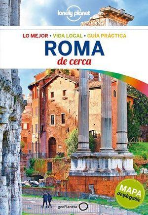 ROMA DE CERCA LONELY PLANET ED. 2018