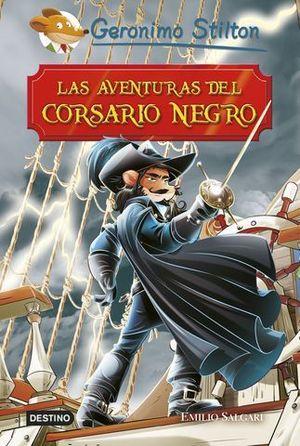 GERONIMO STILTON.  LAS AVENTURAS DEL CORSARIO NEGRO