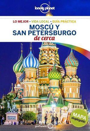 MOSCU Y SAN PETERSBURGO DE CERCA LONELY PLANET ED. 2018