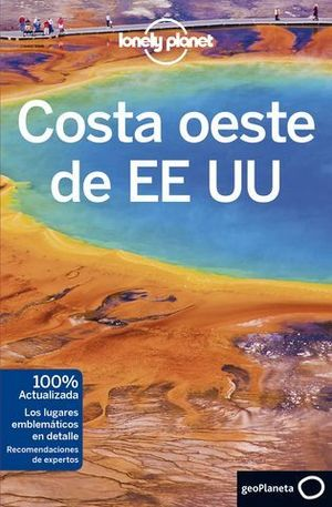 COSTA OESTE DE EE.UU LONELY PLANET  ED. 2018