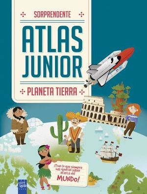 ATLAS JUNIOR PLANETA TIERRA