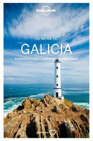 LO MEJOR DE GALICIA  LONELY PLANET  ED. 2018