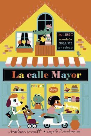 LA CALLE MAYOR LIBRO ACORDEON