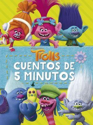 TROLLS CUENTOS DE 5 MINUTOS