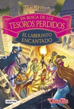 EN BUSCA DE LOS TESOROS PERDIDOS 3 EL LABERINTO ENCANTADO