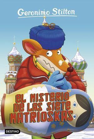 GERONIMO STILTON EL MISTERIO DE LAS SIETE MATRIOSKAS