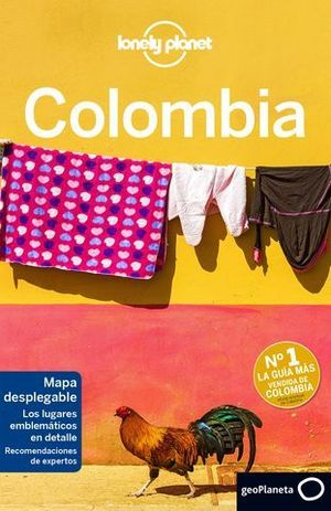 COLOMBIA LONELY PLANET ED 2018