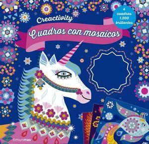 CREACTIVITY.  CUADROS CON MOSAICOS
