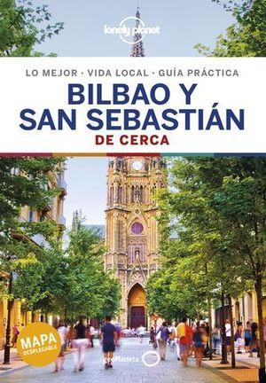 BILBAO Y SAN SEBASTIAN DE CERCA LONELY PLANET 2019