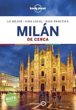MILAN DE CERCA LONELY PLANET ED. 2019