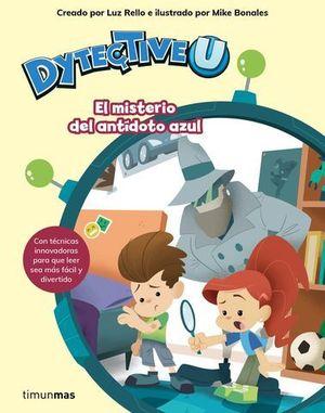 DETECTIVEU.  EL MISTERIO DEL ANTIDOTO AZUL
