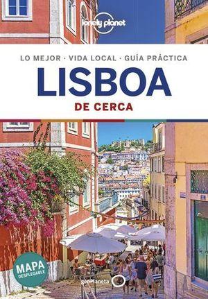 LISBOA DE CERCA LONELY PLANET  2019