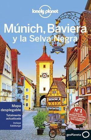 MUNICH, BAVIERA Y LA SELVA NEGRA LONELY PLANET ED. 2019