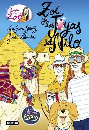 LA BANDA DE ZOE.  ZOE Y LAS JOYAS DEL NILO