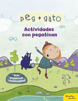 PEP + GATO.  ACTIVIDADES CON PEGATINAS