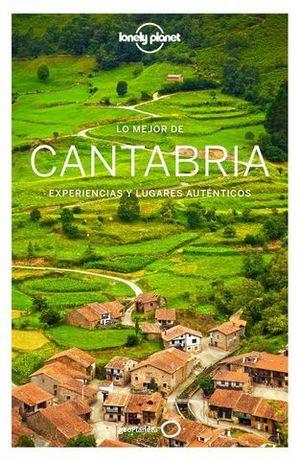 LO MEJOR DE CANTABRIA LONELY PLANET  ED. 2019