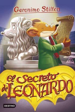GERONIMO STILTON.  EL SECRETO DE LEONARDO