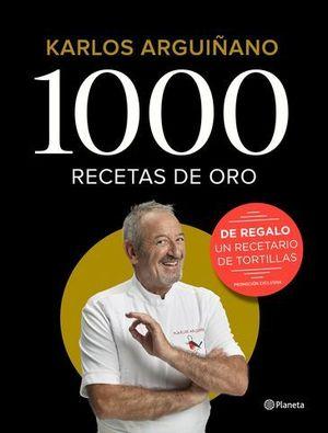 1000 RECETAS DE ORO PACK 2019