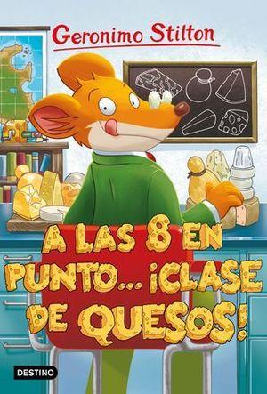 A LAS 8 EN PUNTO CLASE DE QUESOS