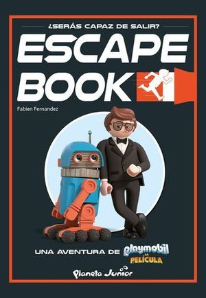 PLAYMOBIL. LA PELÍCULA. ESCAPE BOOK.