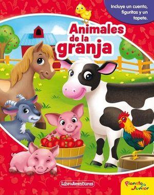 ANIMALES DE LA GRANJA.  LIBRO AVENTURAS