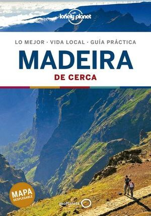MADEIRA DE CERCA LONELY PLANET ED. 2020