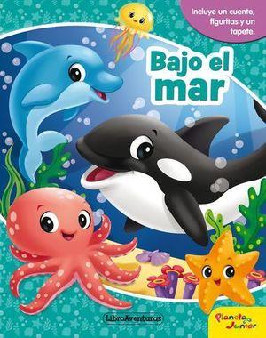 BAJO EL MAR.  LIBRO AVENTURAS