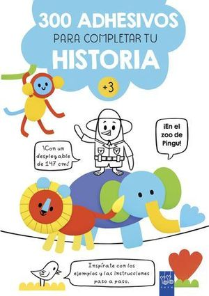 EN EL ZOO DE PINGU.  300 ADHESIVOS PARA COMPLETAR LA HISTORIA
