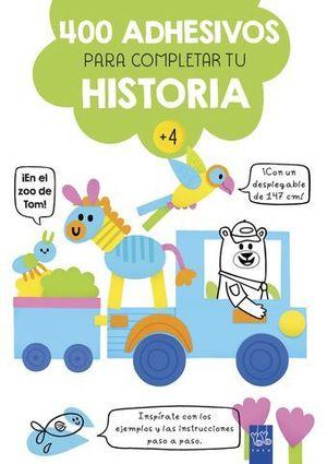 EN EL ZOO DE TOM.  400 ADHESIVOS PARA COMPLETAR LA HISTORIA