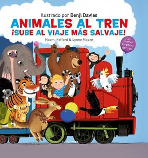 ANIMALES AL TREN ¡ SUBE AL VIAJE MAS SALVAJE !