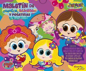 DISTROLLER.  MALETIN DE CUENTOS, ACTIVIDADES Y PEGATINAS