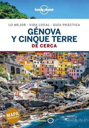 GENOVA Y CINQUE TERRE DE CERCA LONELY PLANET ED. 2020