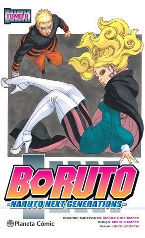 BORUTO Nº 08. NARUTO NEXT GENERATIONS