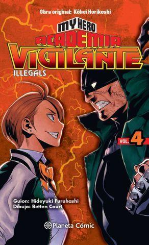 MY HERO ACADEMIA VIGILANTE ILLEGALS Nº 04.