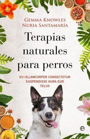TERAPIAS NATURALES PARA PERROS