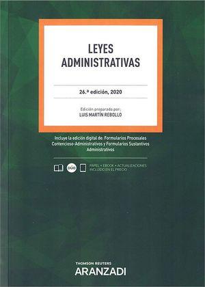 LEYES ADMINISTRATIVAS ED. 2021