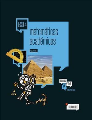 MATEMATICAS ACADEMICAS 4º ESO #SOMOSLINK  ED. 2016