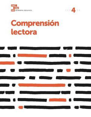 CUADERNO COMPRENSION LECTORA 4º EP  ED. 2017