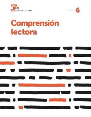 CUADERNO COMPRENSION LECTORA 6º EP  ED. 2017