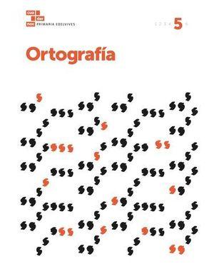 CUADERNO ORTOGRAFIA 5º EP  ED. 2017