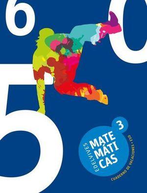 CUADERNO DE VACACIONES MATEMATICAS 3º ESO  ED. 2017