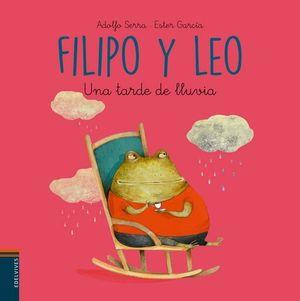 FILIPO Y LEO UNA TARDE DE LLUVIA