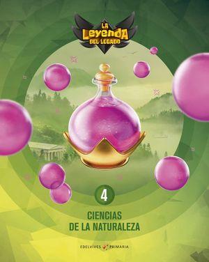 CIENCIAS NATURALEZA 4º EP LA LEYENDA DEL LEGADO + LICENCIA DIGITAL ED. 2021