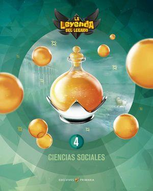 CIENCIAS SOCIALES 4º EP LA LEYENDA DEL LEGADO + LICENCIA DIGITAL ED. 2021
